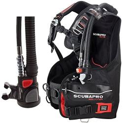 SCUBAPRO Equator w/AIR2 V GEN - Black/Red (Italy)