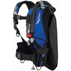 SCUBAPRO Litehawk w/AIR2 V GEN - Black/Blue