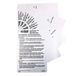 Advanced Open Water Instructor Cue Cards (7)