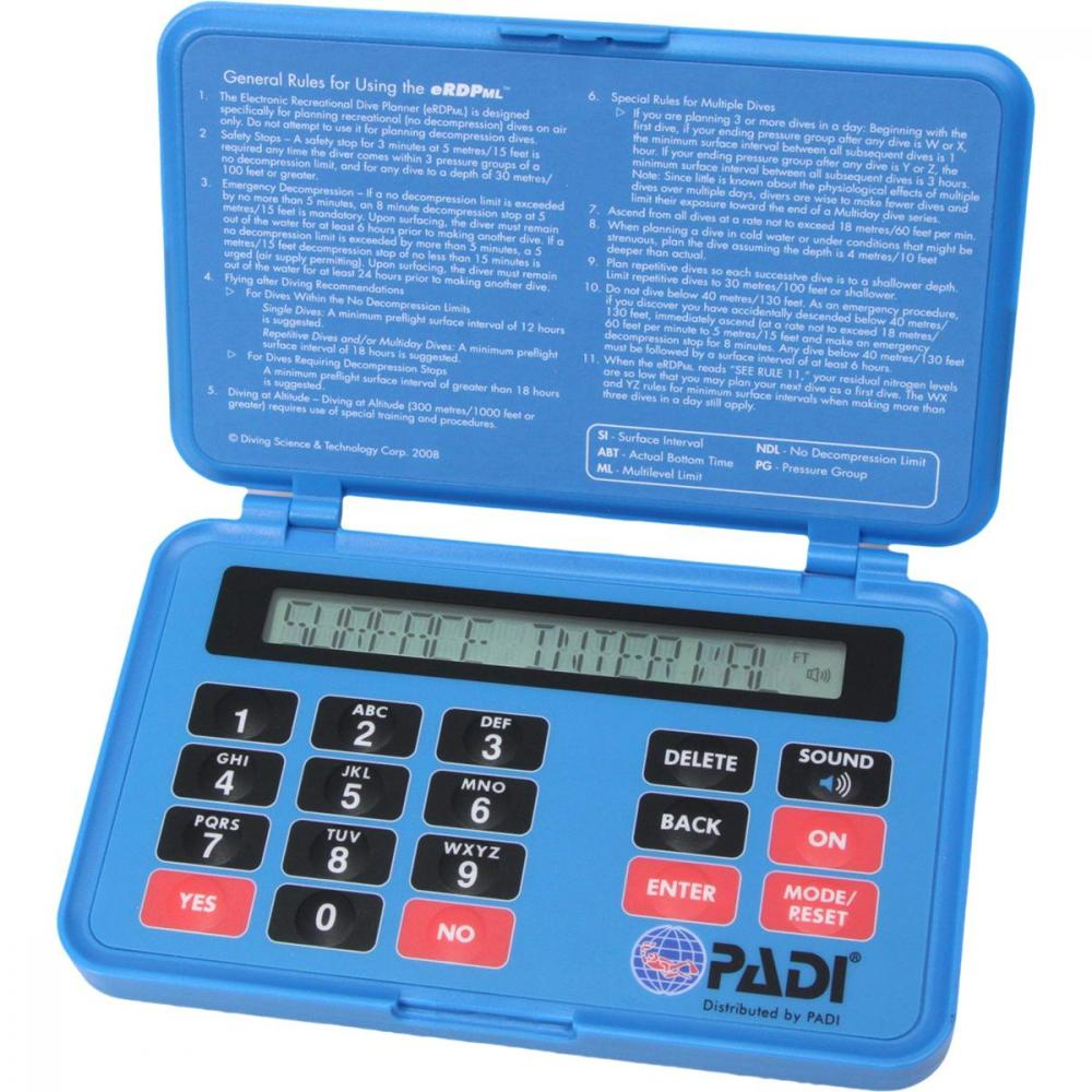 PADI Open Water eLearning Crew-Pak with Table Blue Logbook