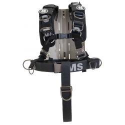 OMS SS Backplate w/ Comfort Harness System III