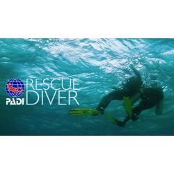 PADI Rescue Diver eLearning use code 60464-1