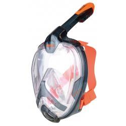 Seac Snorkel Mask Unica L/XL Black/Orange