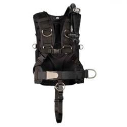 OMS SS Backplate w/ Comfort Harness System III SIG, Crotch Strap,