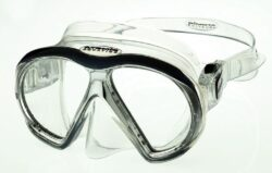 SubFrame Mask, Medium Fit, Clear/Black