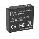 Battery for RM-4K (Li-ion, 3.8V, 1100mAh)