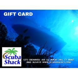 Scuba Shack Gift Card