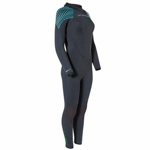 7mm Womens Green Prene Wetsuit 14