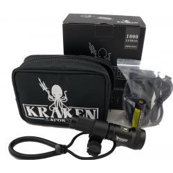 Kraken Hydra 1200 flash light 1200 lumens