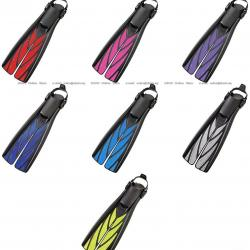 Smoke Atomic Split Fins