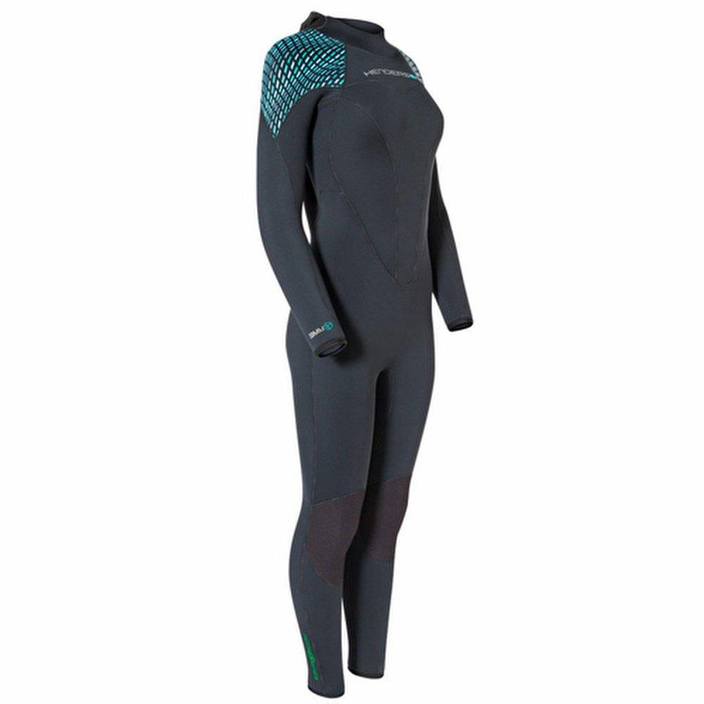 7mm Womens Green Prene wet suit 10