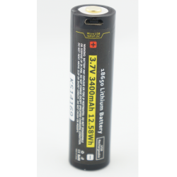 Kraken 3400 18650 USB Battery