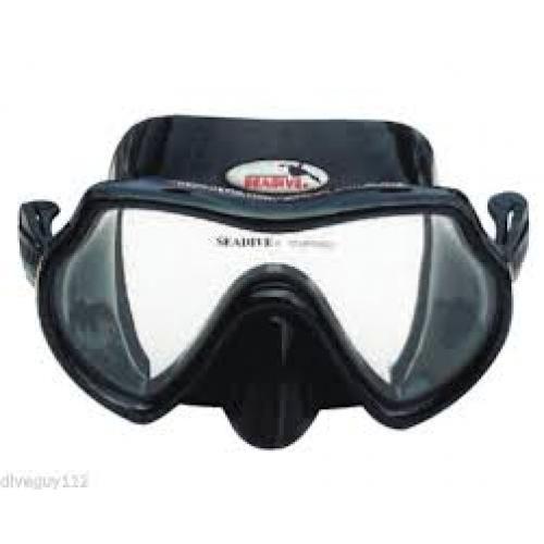 Eagle-eye HD Rayblocker Mask Black Silicone