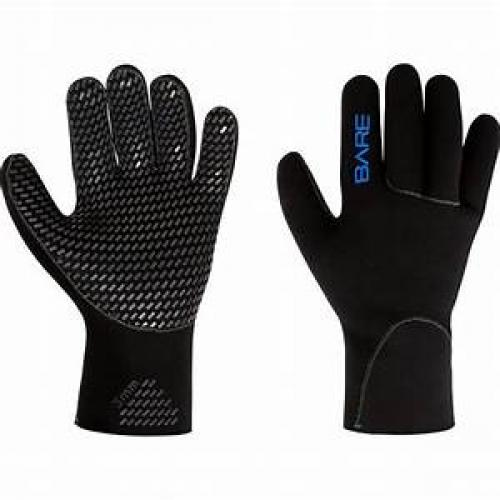 3 mm K-Palm Glove, Black L