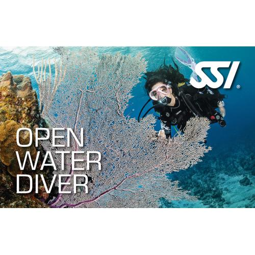 All inclusive open water program with all equipment