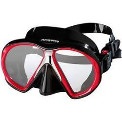Atomic SubFrame Mask, Medium Fit, Black/Red