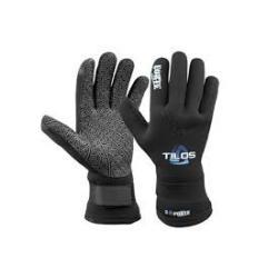 TILOS 3mm Forte Titanium Velcro Glove L