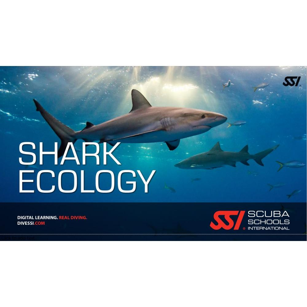This is the SSI Shark Ecology program with the SSI Digital Downlo