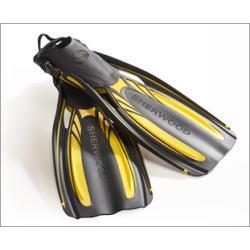 Sherwood Elite Open Heel Fin in Yellow