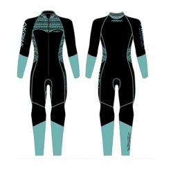 3mm Quantum Stretch Ladies Full Suit (TL)