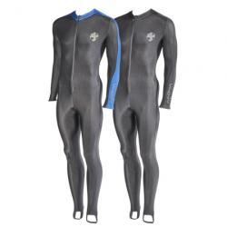 Skin Suit XL Black/Blue