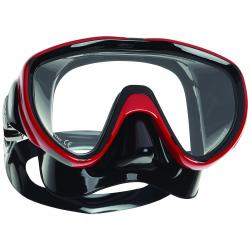 Flux Single Lens Mask - Black/Red