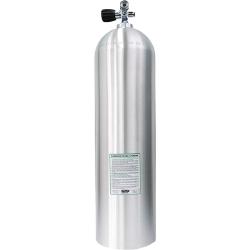 80 CF AL Cylinder w/Pro Valve - Natural/Brushed