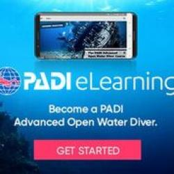 PADI AOW Diver eLearning - Touch (includes PIC fee)