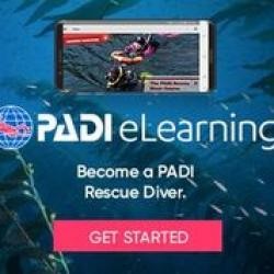 PADI RESCUE DIVE eLearning - Touch (includes Processing fee)