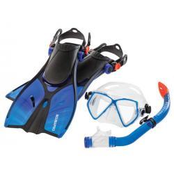 Scubapro Mini Vu Snorkeling Combo in Blue
