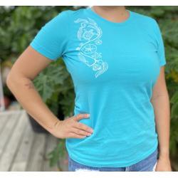 Women's Beach Art T-Shirt