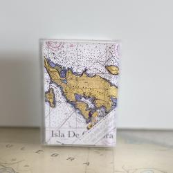 Culebra Map Eco Playing Cards