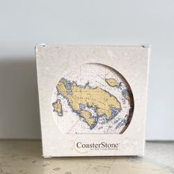 CoasterStone Stone Coasters, box of 4