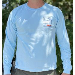 Men's Stencil Map LS T-Shirt