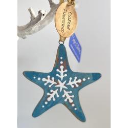 Metal Ornament Starfish
