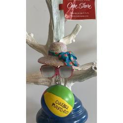 Resin Ornament Sunglass/Ball/Hat