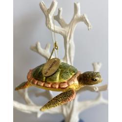 Blown Glass Ornament - Turtle