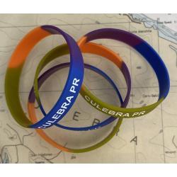 Culebra, PR Rubber Bracelet