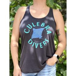Women's Culebra Divers Logo ] Racerback