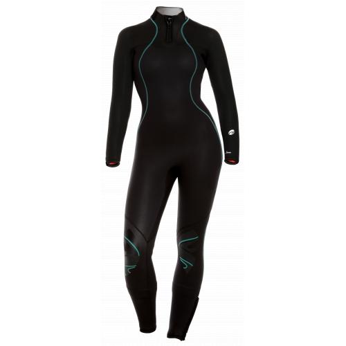 BARE Nixie Ultra Full Women's Wetsuit in Black