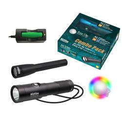 Big Blue Combo Pack: AL250 & AL1200NP-II & Easy Clip Rainbow Lights