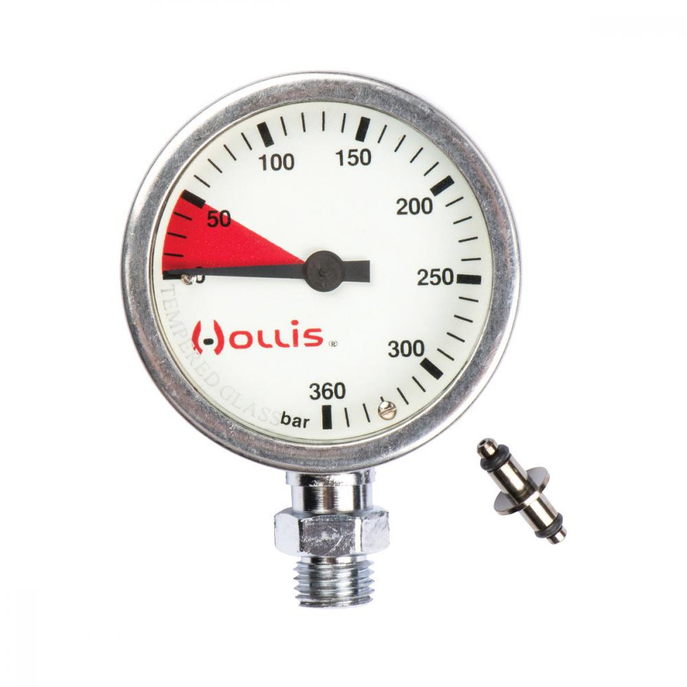 HOLLIS PRESSURE GAUGE MODULE PSI -- METAL W/O BOOT