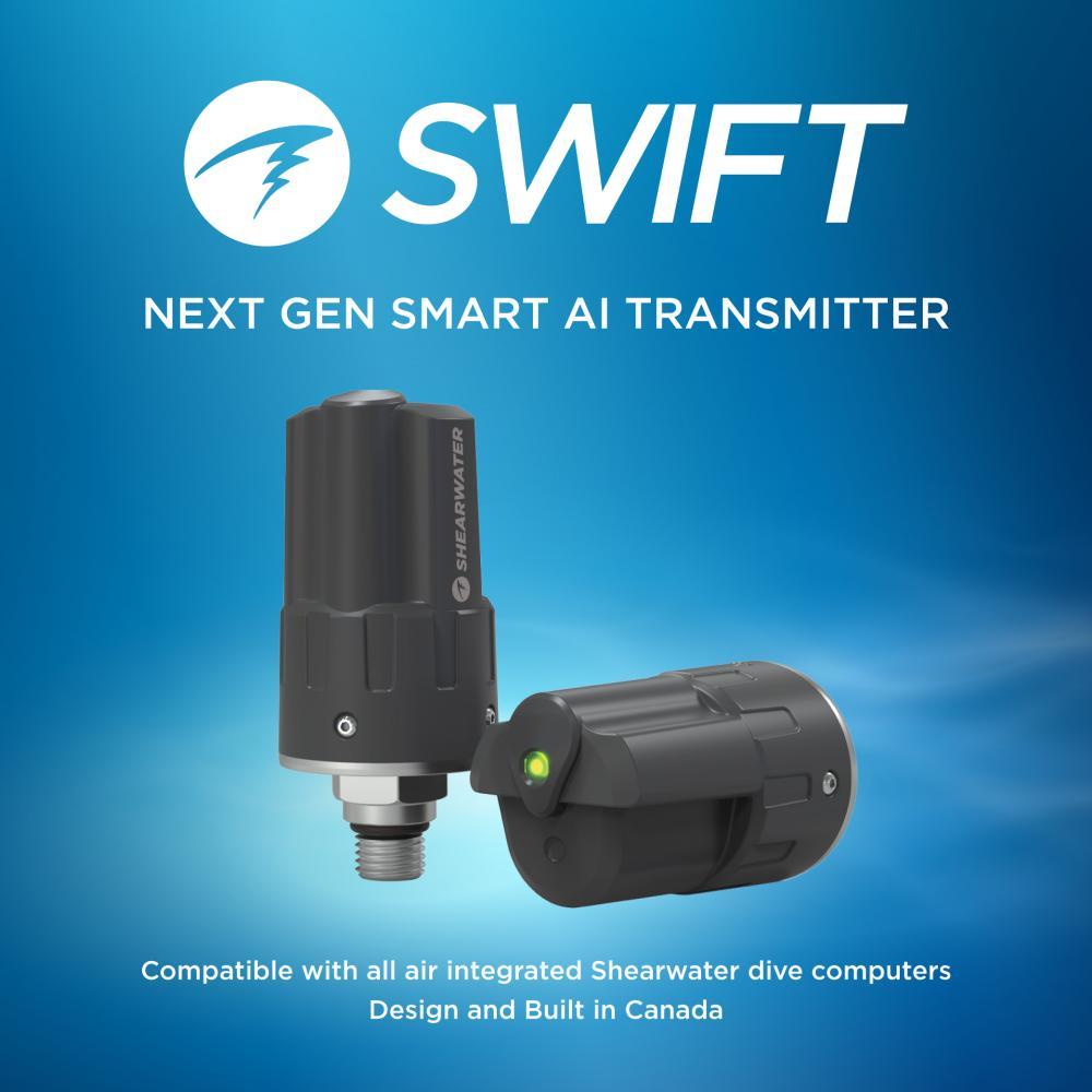 Shearwater SWIFT AI Transmitter
