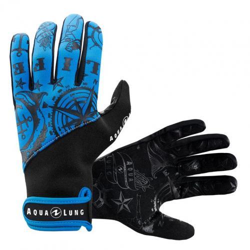 Admiral III Gloves Blue