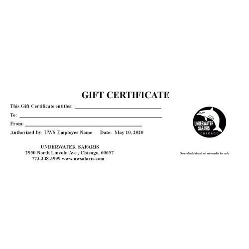 Gift Certificates Regular