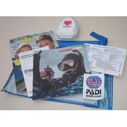 PADI Rescue Crew-Pak w/Pocket Mask