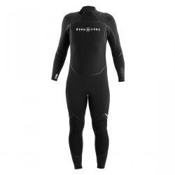 Aquaflex 3mm Fullsuit Mens Blk/Charcoal