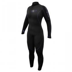 Aquaflex 3mm Fullsuit Ladies Blk/Twilight