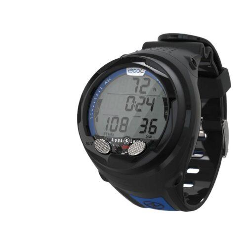 Aqualung i300C Wrist Computer Black & Blue Bluetooth Enabled