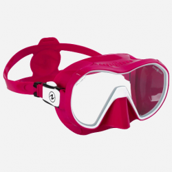 Plazma - Raspberry/White - Clear lens